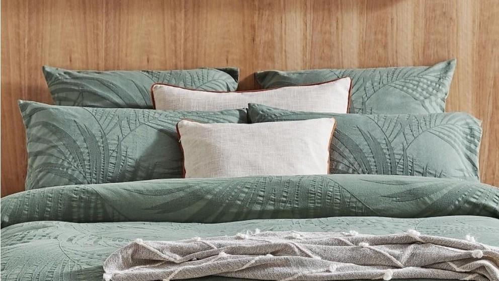 Delta Olive European Pillowcase
