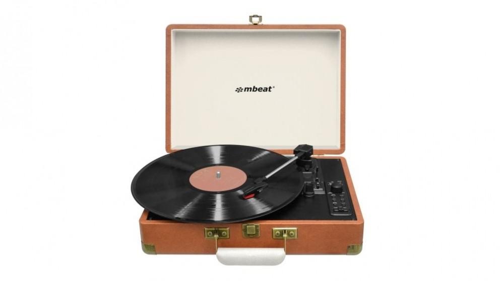 Mbeat Aria Retro Turntable with USB Recording