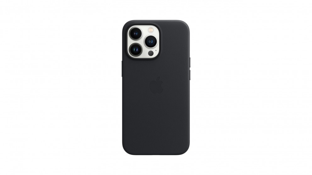 Apple iPhone 13 Pro Leather Case with MagSafe - Midnight