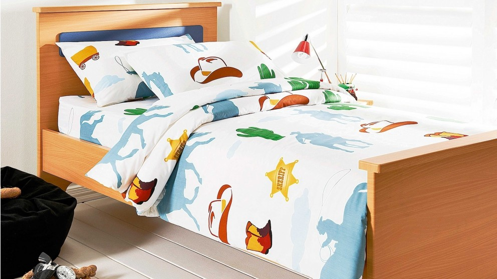 Wild West King Single Quilt Cover Set