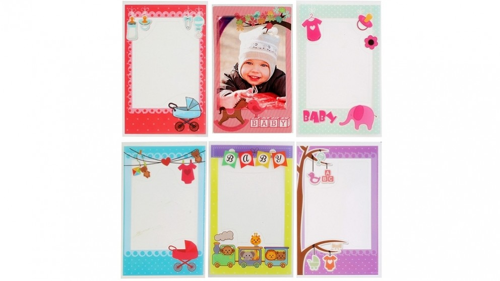 Instax Mini Photo Frame Sticker 6 Pack - Baby