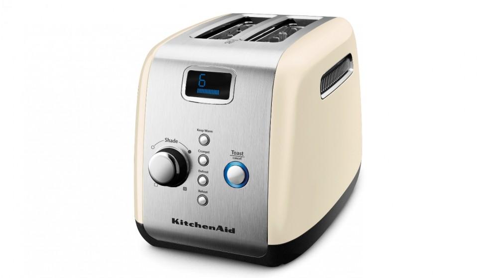 KitchenAid 2 Slice Toaster - Almond Cream