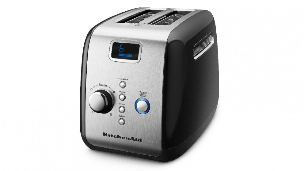 KitchenAid 2 Slice Toaster - Onyx Black
