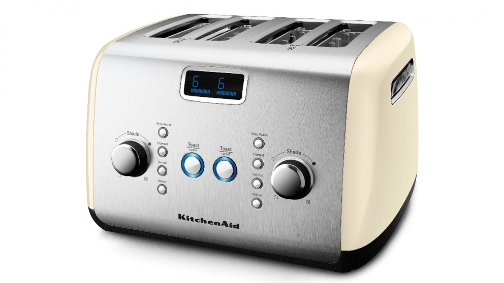 KitchenAid 4 Slice Toaster - Almond Cream