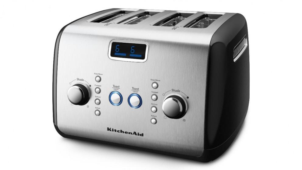KitchenAid 4 Slice Toaster - Onyx Black