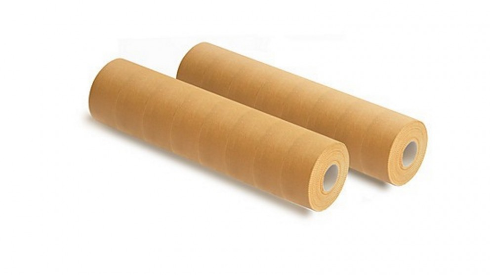 Serrano Premium Rigid Sports Strapping Tape - 16 Rolls x 38mm x 13.7m - Tan