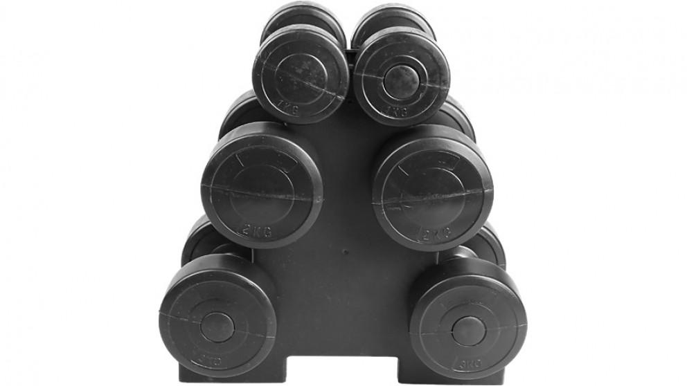Serrano Dumbbell Weights Set - 12kg