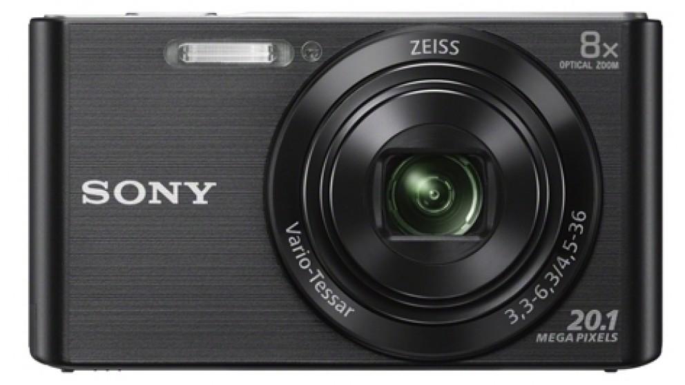 Sony DSCW830B 20.1MP W-Series Cybershot Digital Camera - Black