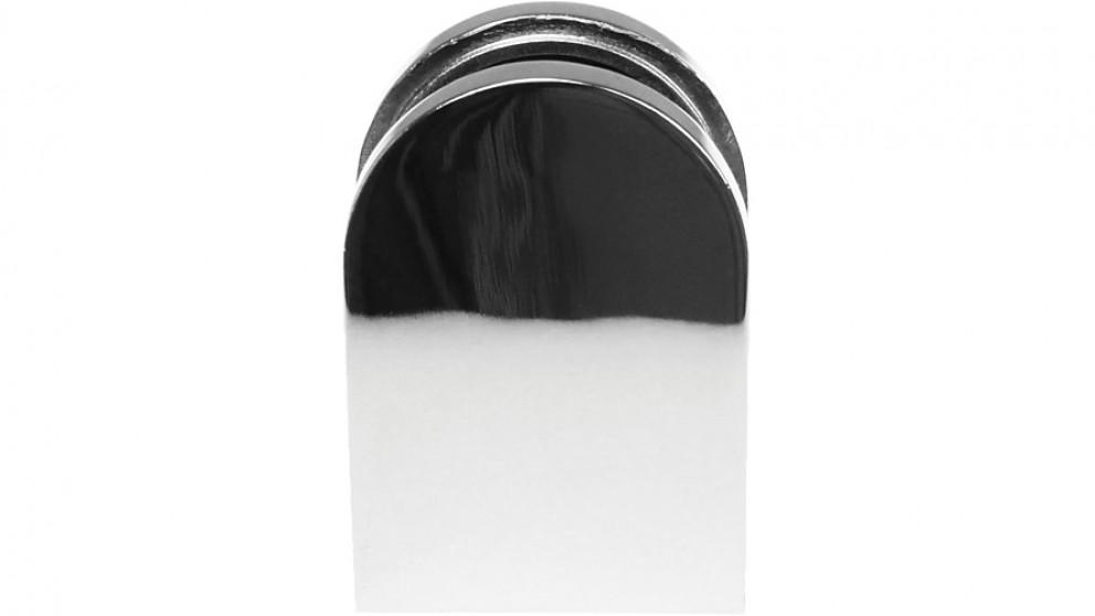 Serrano Chrome Bracket for Glass Balustrade Panels - Set of 2