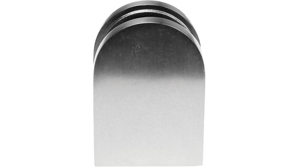 Serrano Brushed Nickel Bracket for Glass Balustrade Panels - Set of 2