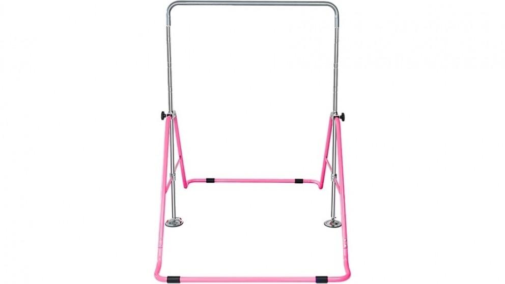 Serrano Kids Gymnastics Bars Training Horizontal Bar Monkey Kip Bar - Light Pink