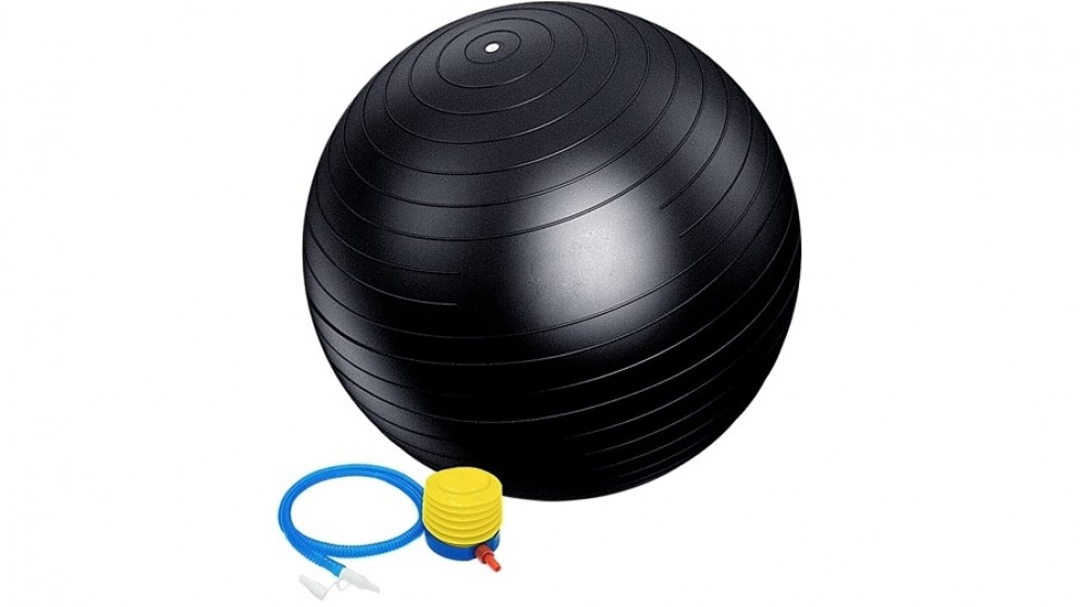 Serrano Static Strength Exercise Stability Ball with Pump - 75cm