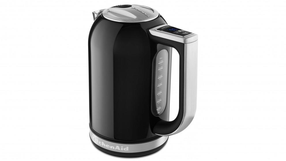 KitchenAid 1.7L Variable Temperature Kettle - Onyx Black