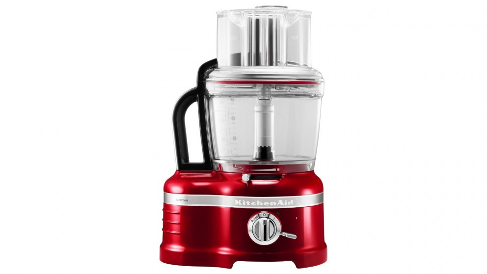 KitchenAid KFP1644 Pro Line Food Processor - Candy Apple Red