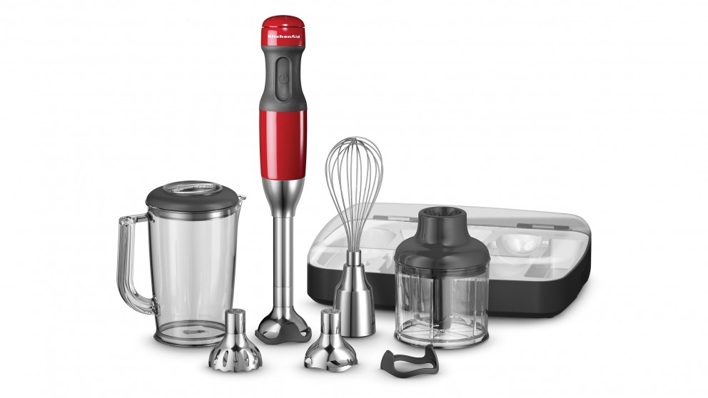 KitchenAid Hand Blender - Empire Red
