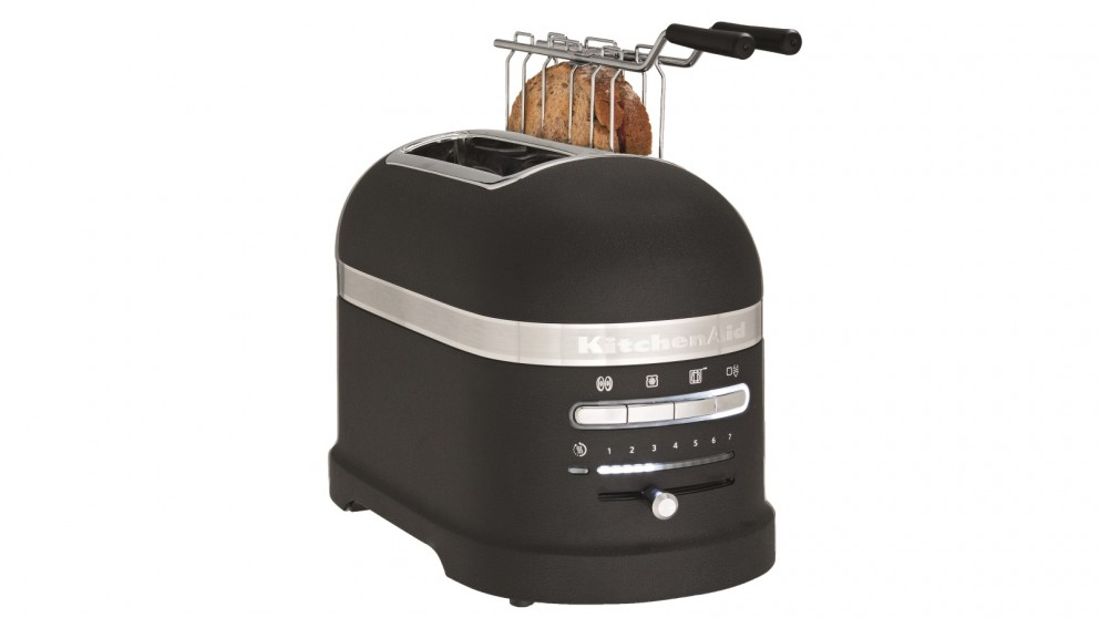 KitchenAid Proline 2 Slice Toaster - Cast Iron Black