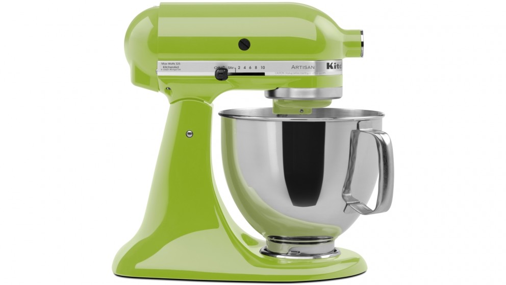 KitchenAid KSM150 Artisan Stand Mixer - Green Apple