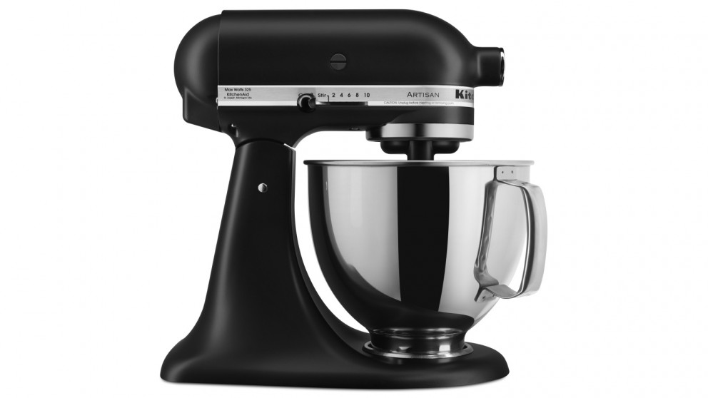 KitchenAid KSM160 Artisan Stand Mixer - Black Matte