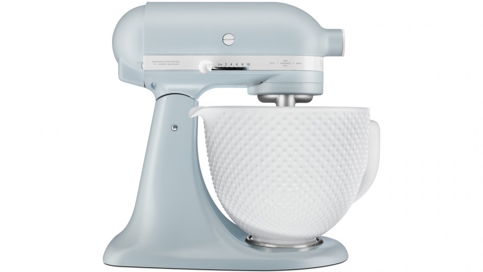 Fine Kitchenaid 100 Years Tilt Head Stand Mixer Misty Blue Home Remodeling Inspirations Cosmcuboardxyz