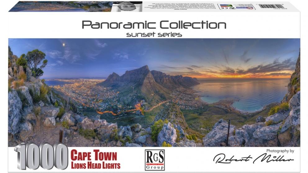 Cape Town Lions Head - 1000 Piece Jigsaw Puzzle