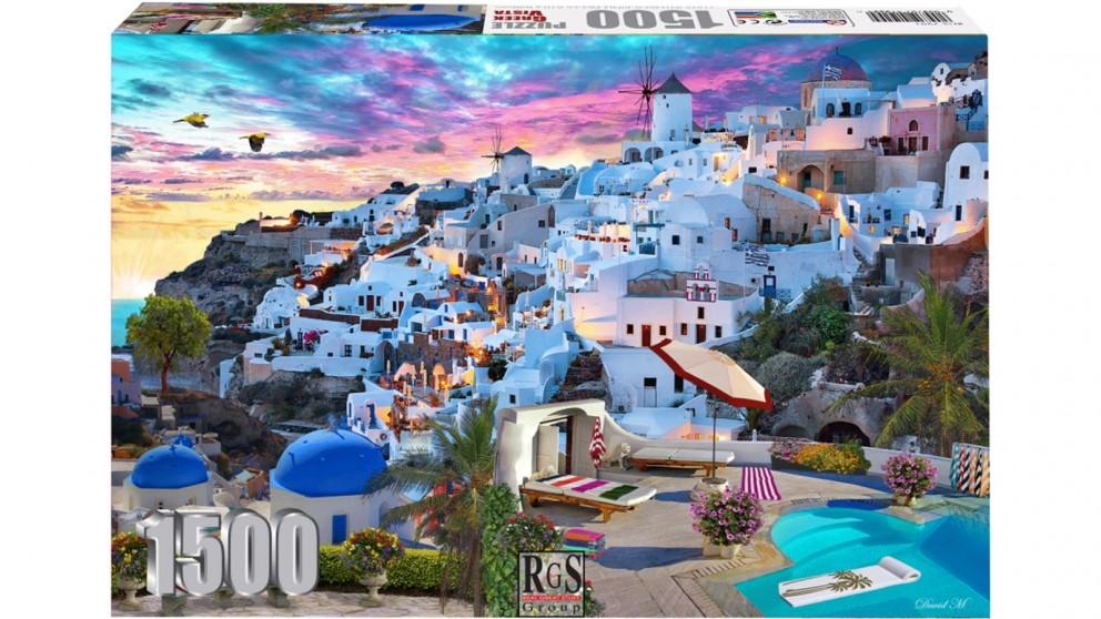 Greek Vista 1500 Piece Jigsaw Puzzle
