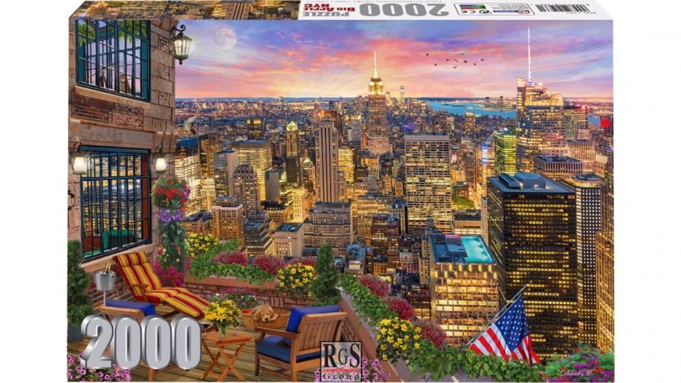 The Big Apple NYC 2000 Piece Jigsaw Puzzle