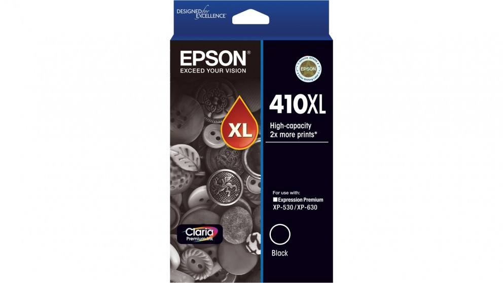 Epson 410XL Claria Premium Ink Cartridge - Black