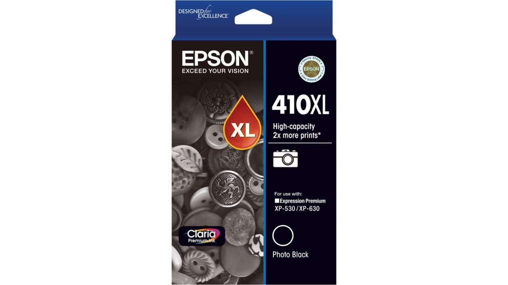 Epson 410XL Claria Premium Photo Ink Cartridge - Black