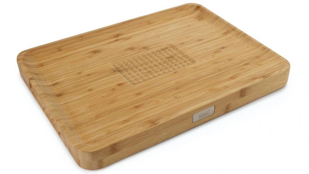 Joseph Joseph Cut & Carve Bamboo Chopping Board
