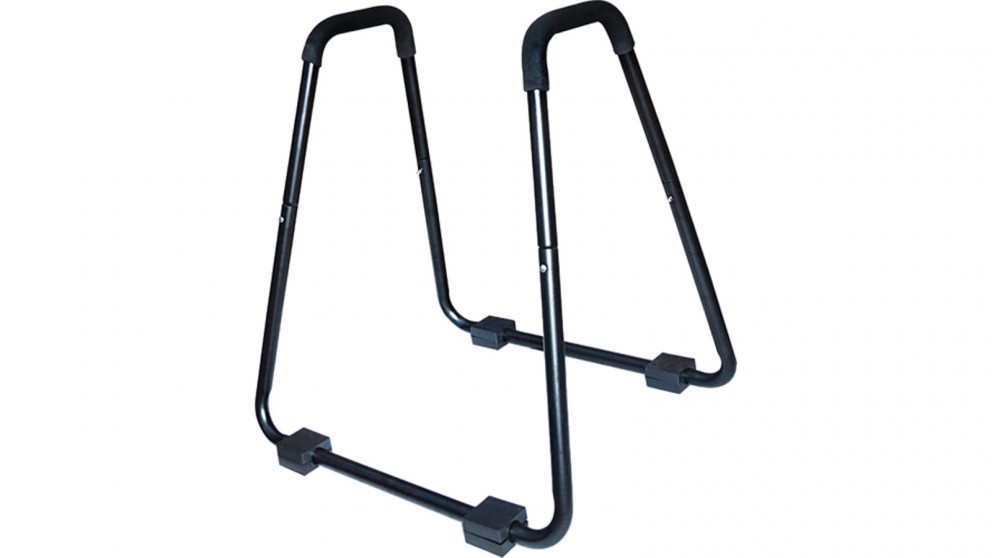 Serrano Heavy Duty Body Press Core Bars Push Up Home Gym Parallette Stand