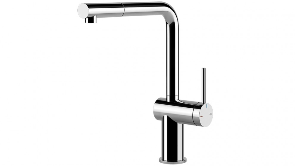 Gessi Inedito Pull Out Kitchen Mixer - Chrome