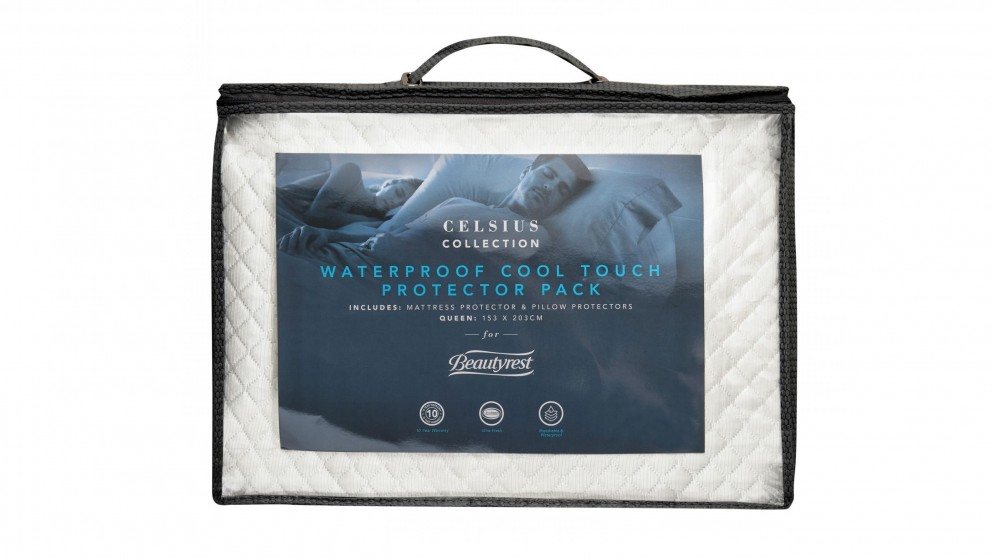 BeautyRest Celsius Cool Touch Mattress Protector Pack