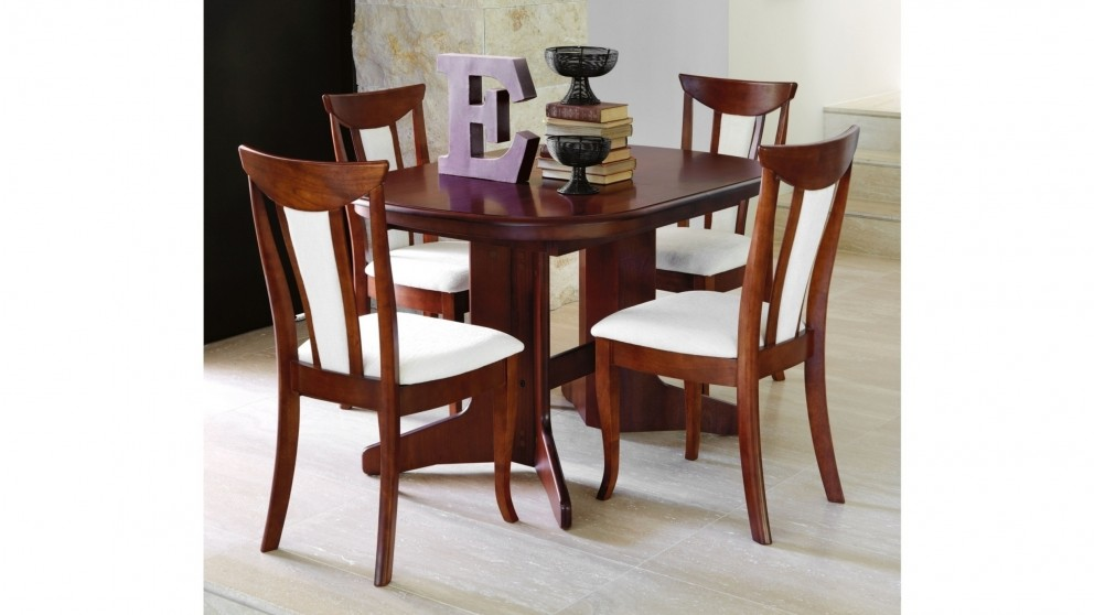 Geneva 5 Piece Extension Dining Setting Part 67
