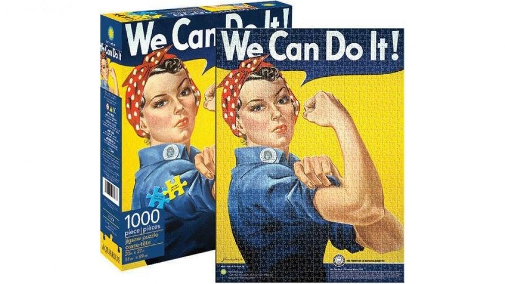 Aquarius Puzzle Smithsonian Rosie Riveter Puzzle 1,000 Pieces