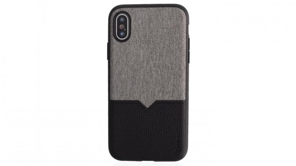 wholesale dealer 28eab 1dfe8 Evutec Northill Case with AFIX Carmount for iPhone X/XS - Canvas/Black