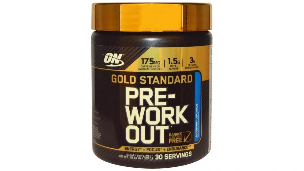 Optimum Nutrition Gold Standard Pre Workout Blueberry Lemonade - 30 Serve