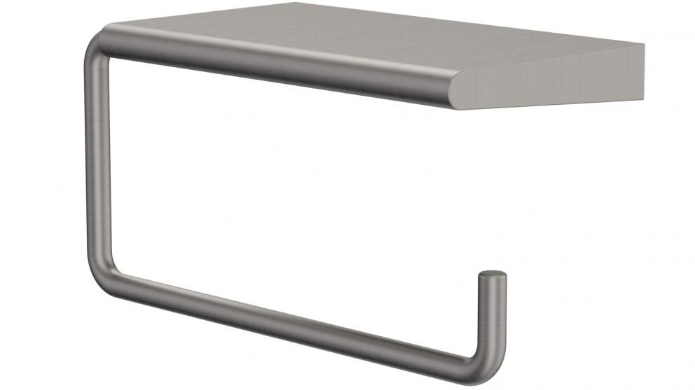 Dorf Kanso Toilet Roll Holder - Gunmetal Grey