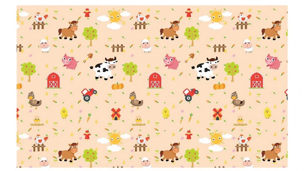 Rollmatz Baby Mats - Farm Animals