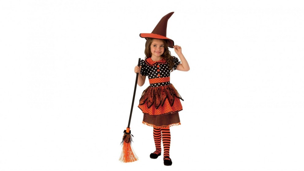 Polka Dot Witch Costume