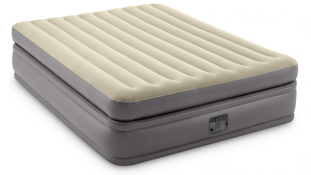 Intex Prime Comfort Queen AirBed with Electric Pump