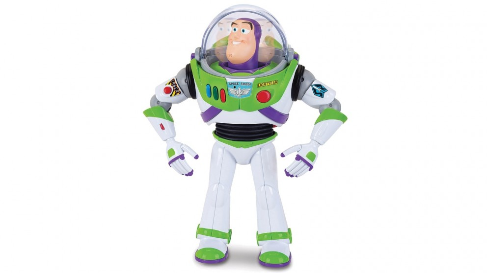Toy Story 4 Feature Talking Buzz Lightyear 12-inch