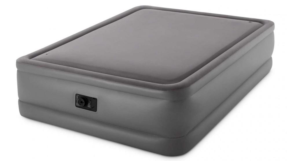 Intex Queen Dura-Beam Foam Top Airbed With Fiber-Tech Bip