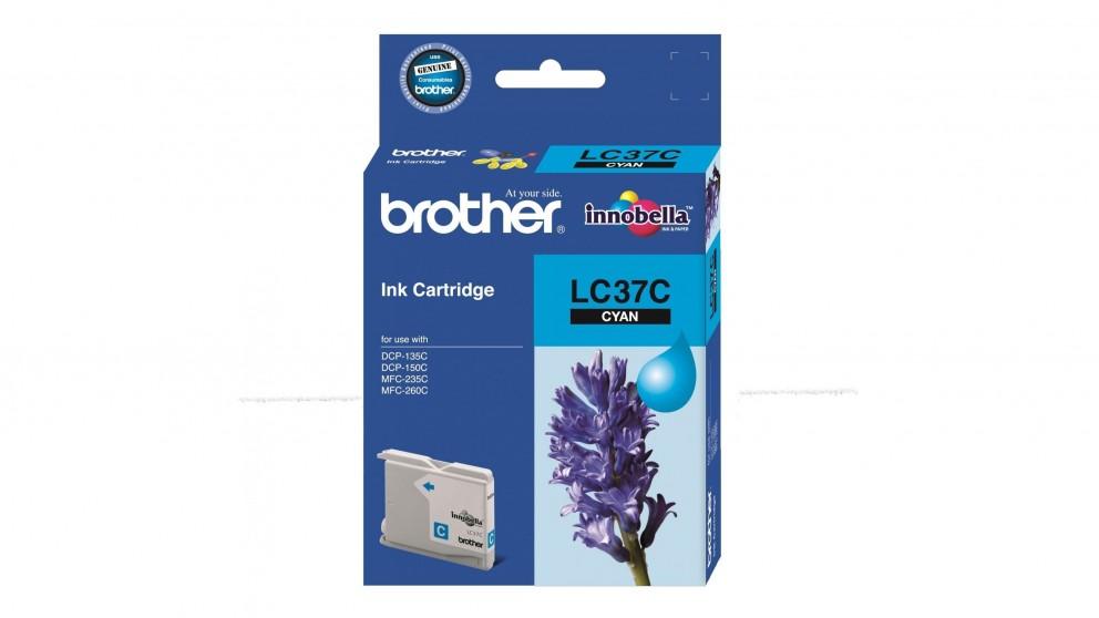 Brother LC-37 Ink Cartridge - Cyan