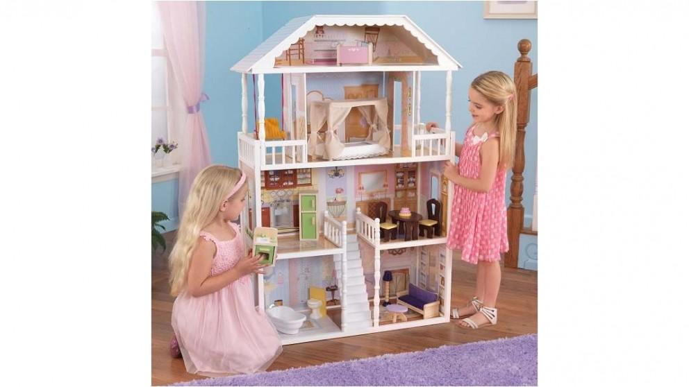 Kidkraft Ds Savannah Dollhouse With Furniture Doll Houses Dolls Doll Houses Toys Kids