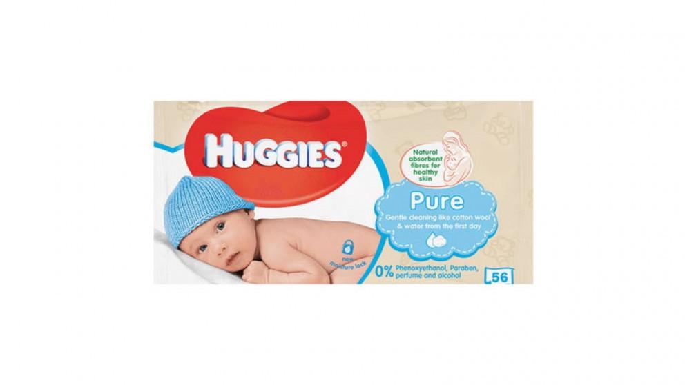 Huggies Pure Soft Gentle Baby Wipes