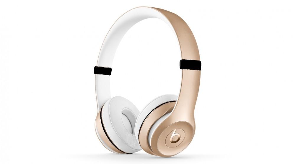 Beats Solo3 Wireless On-Ear Headphone – Gold