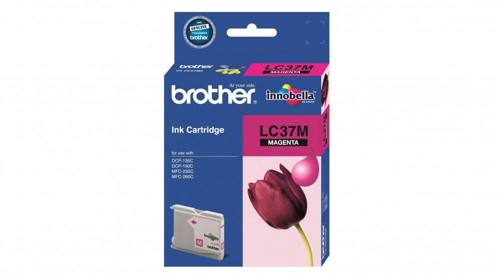 Brother LC-37 Ink Cartridge - Magenta