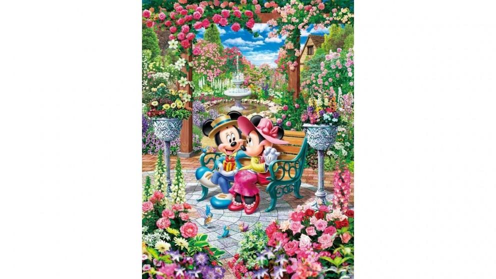 Disney Mickey & Minnie Blooming Love Royal Garden Puzzle 500 Pieces