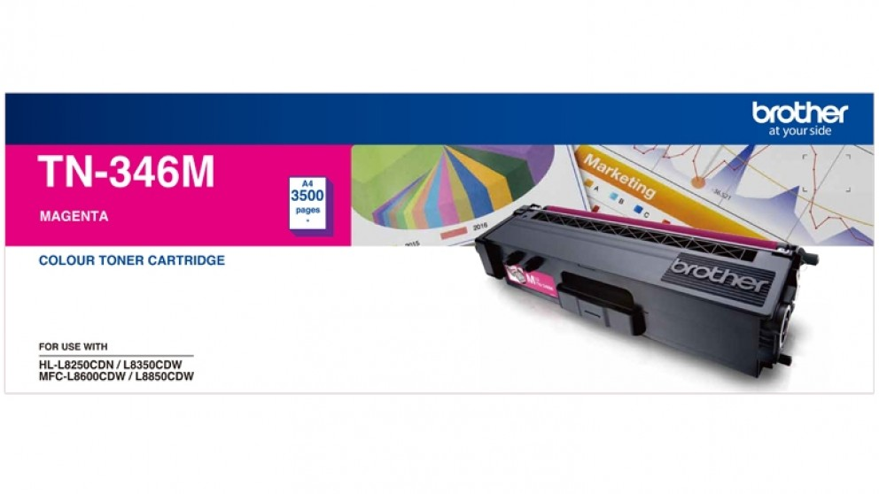 Brother TN-346M Toner - Magenta