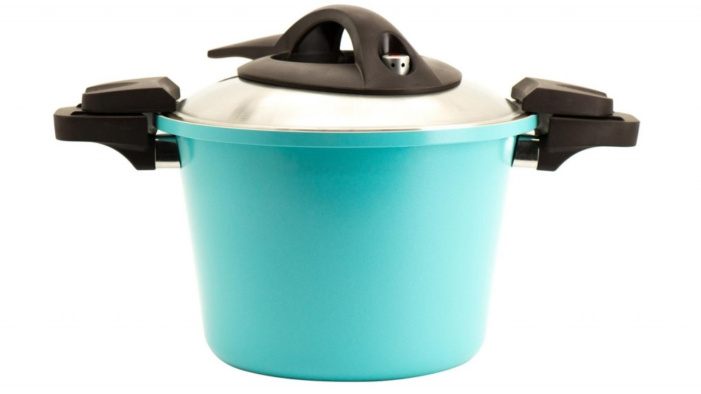 Neoflam Low Pressure 26cm Induction With Stainless Lid - Mint